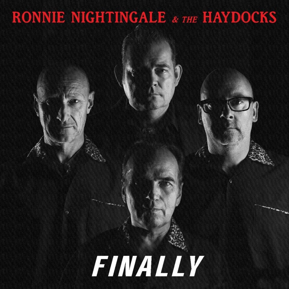 CD - Ronnie Nightingale & The Haydock - Finally