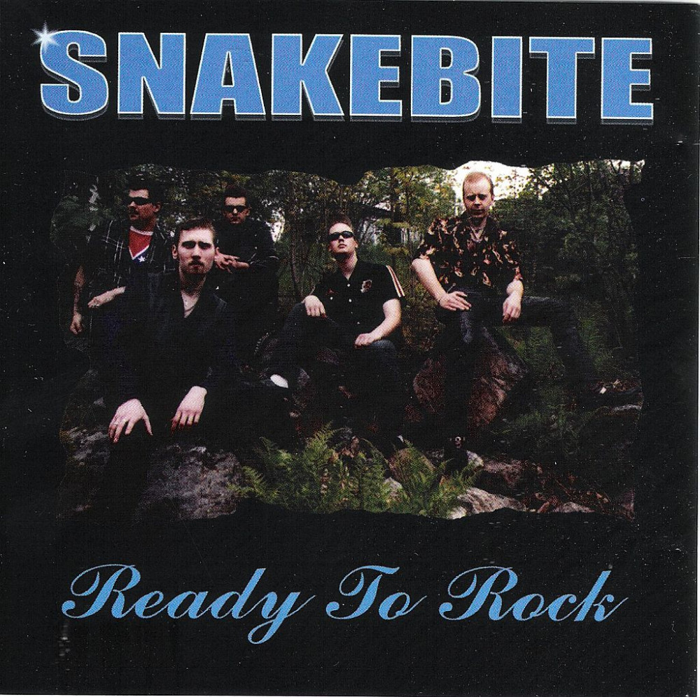 CD - Snakebite - Ready To Rock