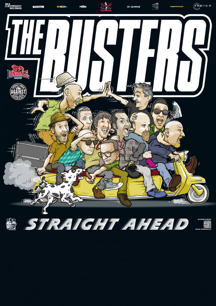 Poster - Busters - Straight Ahead Tour 2018