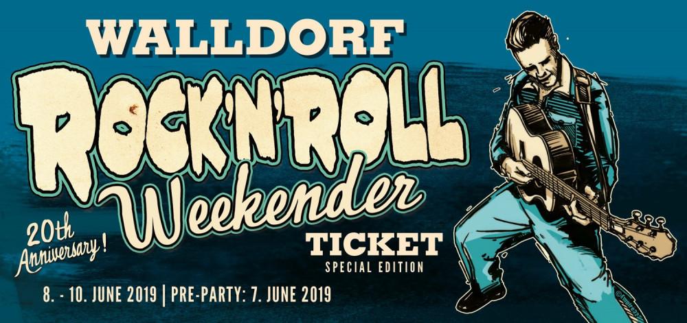 Walldorf R'n'R Weekender Geschenkticket 2019