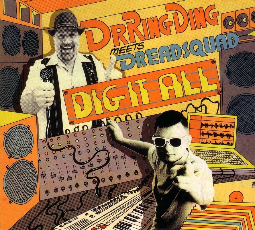 CD - Dr. Ring Ding Meets Dreadsquad - Dig It All