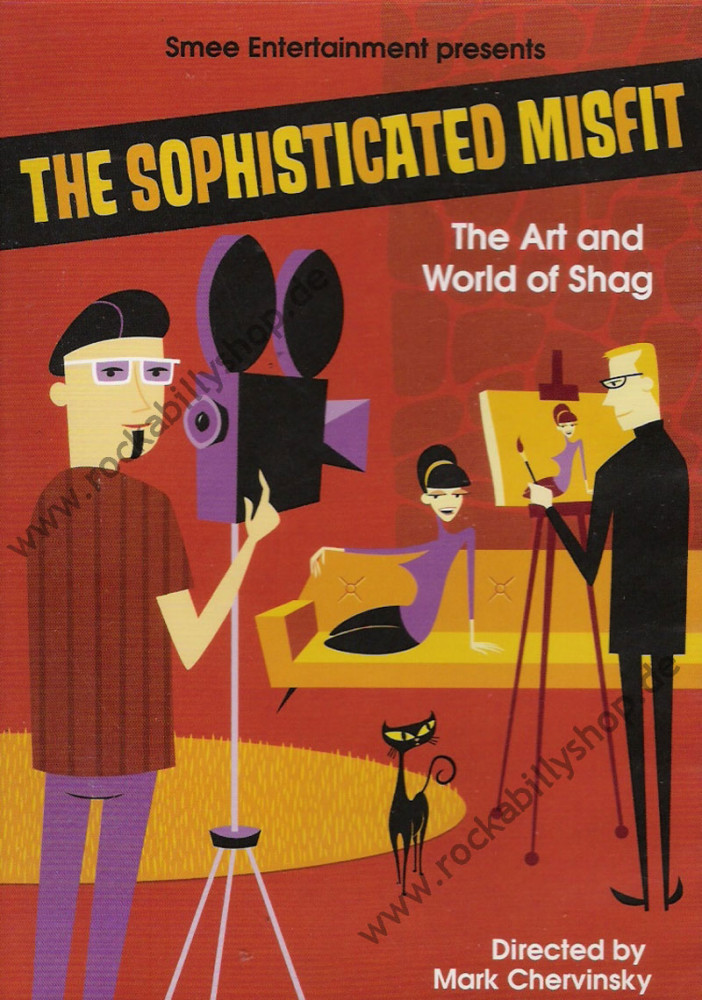 DVD - The Sophisticated Misfit By Shag