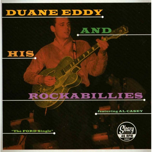 Single - Duane Eddy - The Ford Single