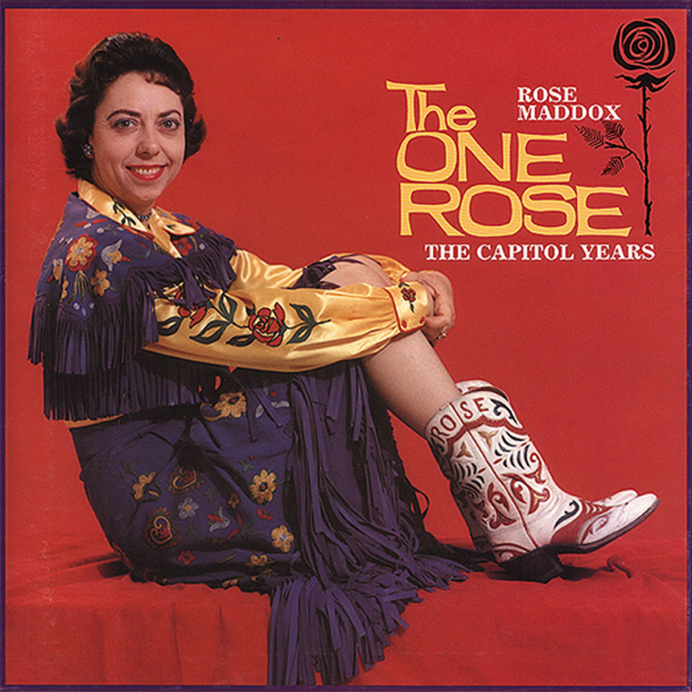 CD-4 - Rose Maddox - The One Rose