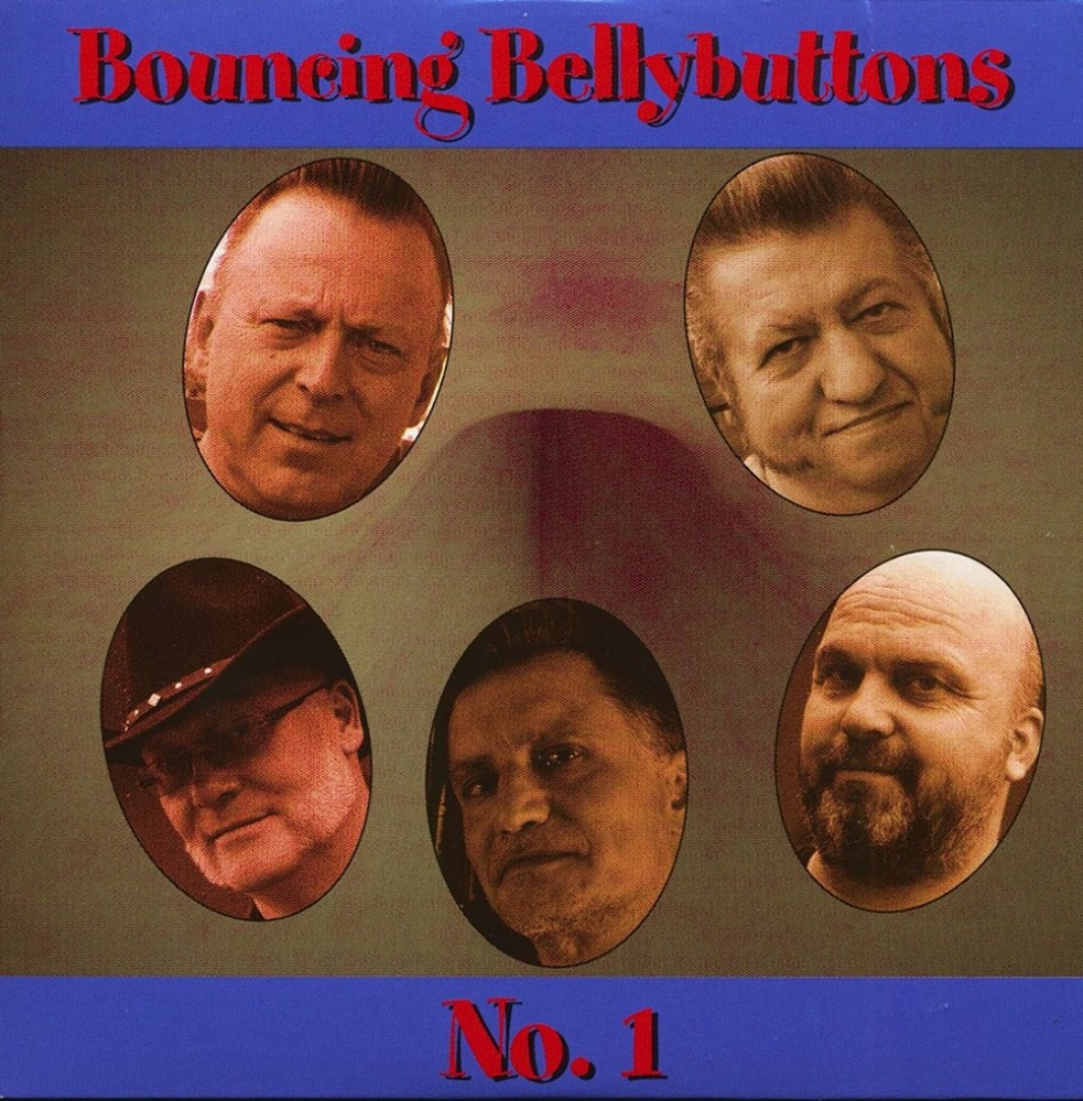 CD - Bouncing Bellybuttons - No. 1