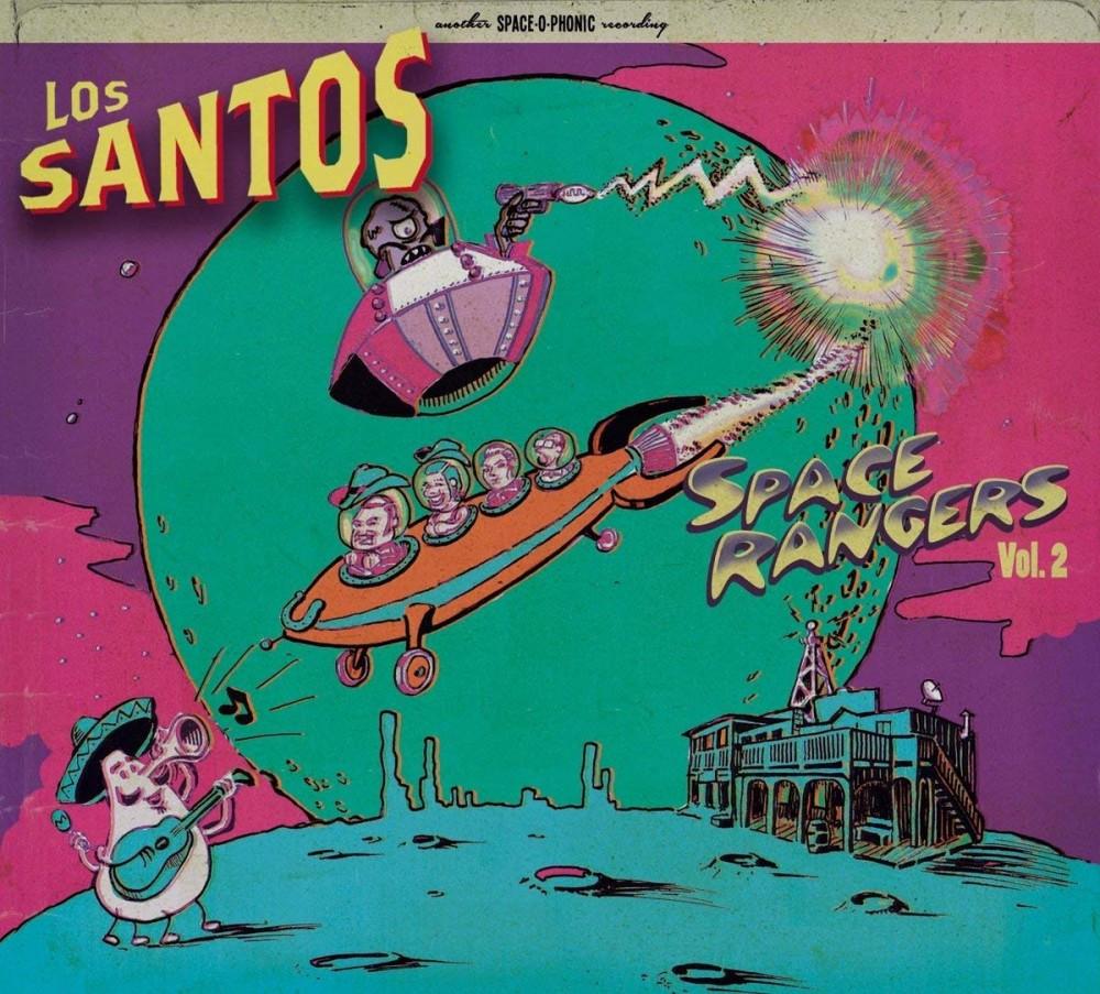 CD - Los Santos - Space Rangers Vol. 2