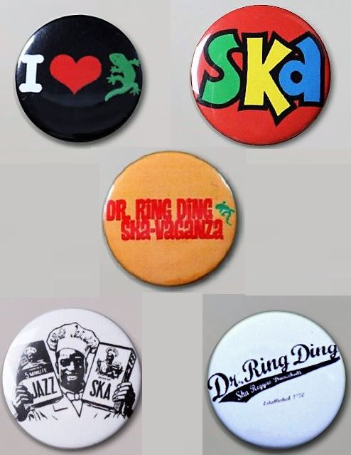Button - Set Dr. RingDing