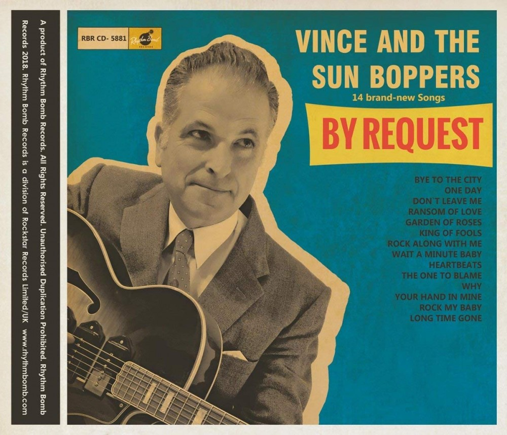 3CD - Vince and the Sun Boppers - By Request