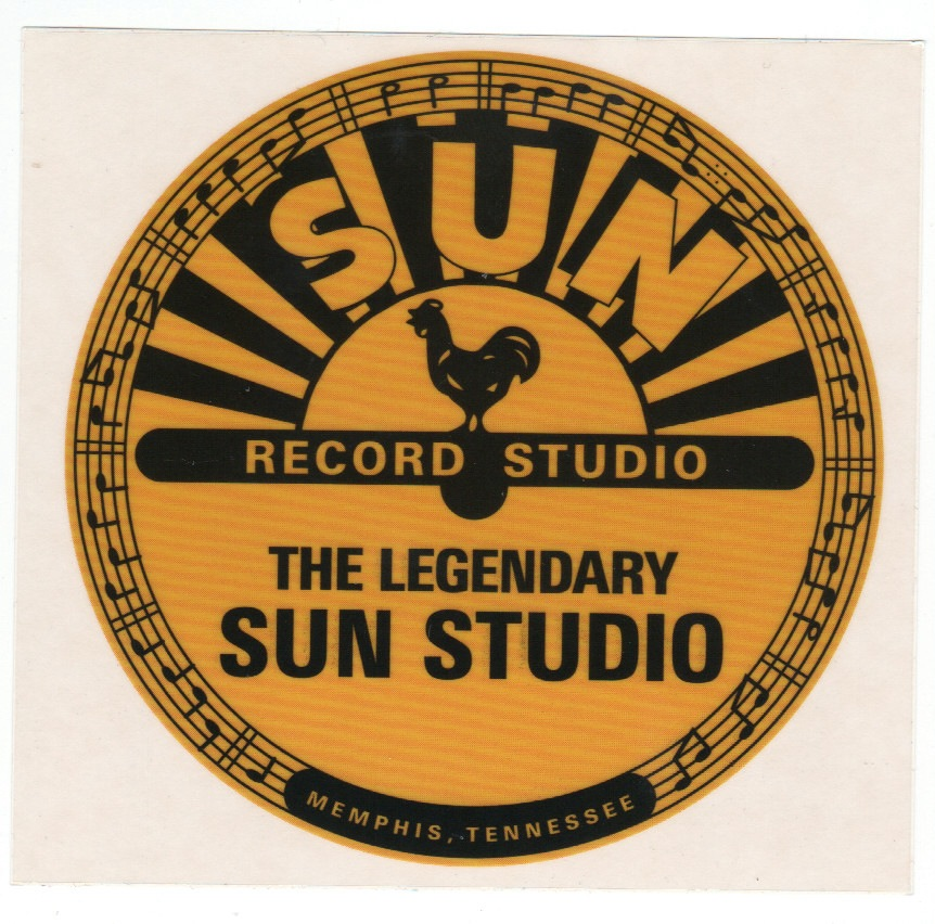 Hot Rod Aufkleber - Sun Records