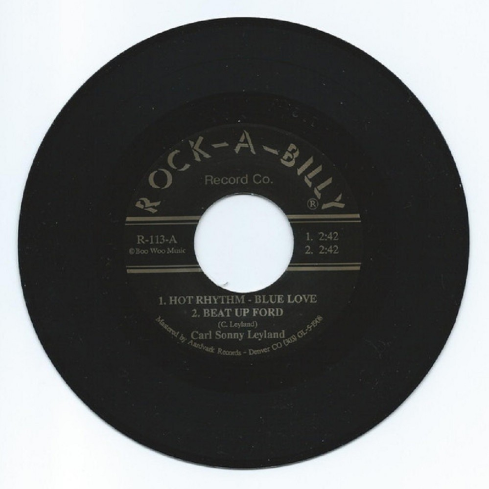 Single - Carl Sonny Leyland - Hot Rythm-Blue Love, Beat-Up Ford, Air Conditioner Blues