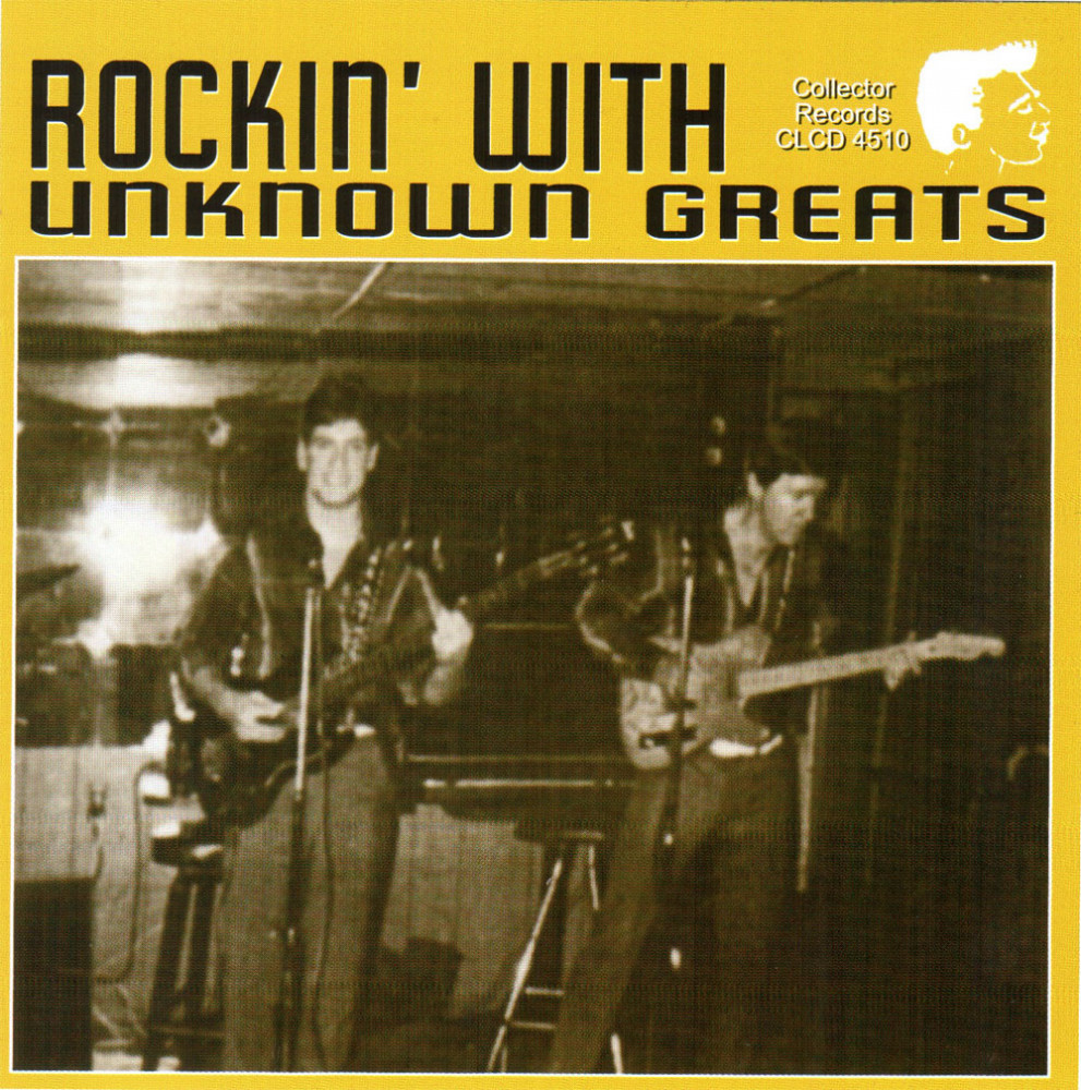 CD - VA - Rockin' With Unknown Greats