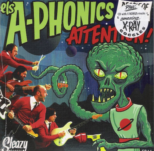 Single - A-Phonics - People Of The Earth: Attention!