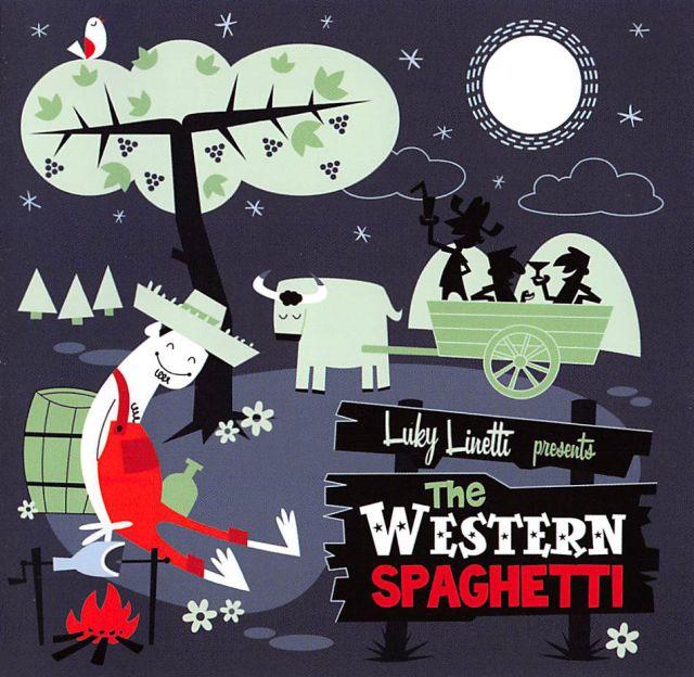 CD - Western Spaghetti - Luky Linetti Presents