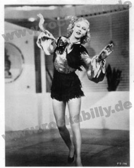 Autogramm-Foto - Ginger Rogers  - Follow The Fleet