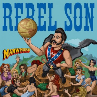 CD - Rebel Son - Manwhore