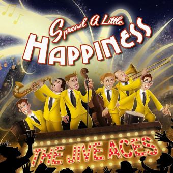 CD - Jive Aces - Spread A Little Happiness