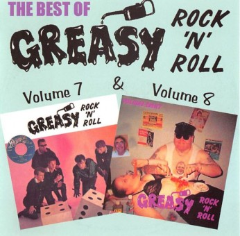 CD - VA - Greasy Rock And Roll Vol. 7 & 8
