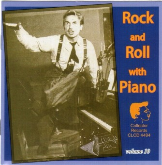 CD - VA - Rock And Roll With Piano Vol. 10