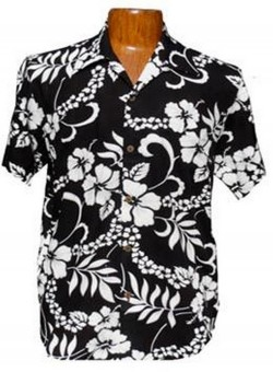 Hawaii - Shirt - Waikiki Black