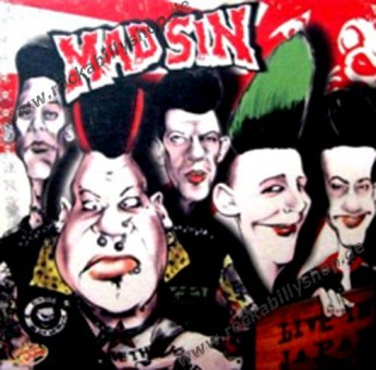 LP - Mad Sin - Live In Japan