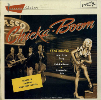 10inch - Flatfoot Shakers - Chicka-Boom