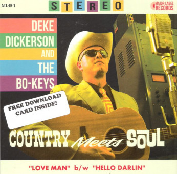 Single - Deke Dickerson And The Bo-Keys - Country Meets Soul