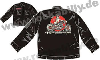 King Kerosin Workerjacke - American Motorcycle