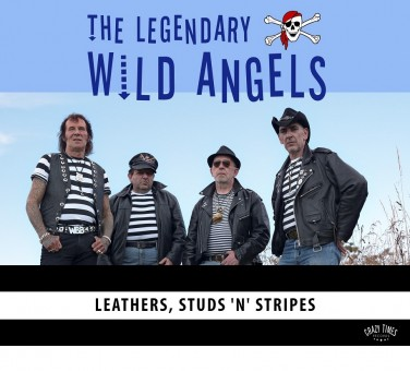CD - Wild Angels - Leathers, Studs ?n? Stripes