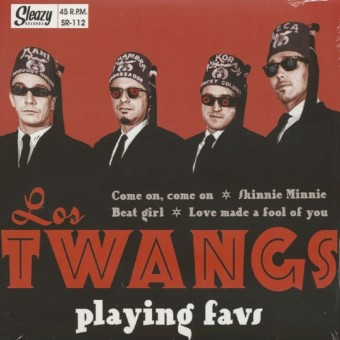 Single - Los Twangs - Playing Favs