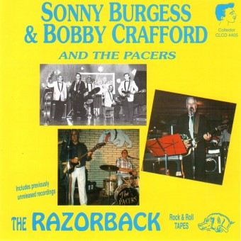 CD - Sonny Burgess - And Bobby Crafford with the Pacers