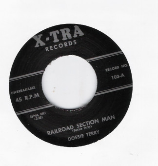 Single - Dossie Terry - You Will Be Mine / Railroad Section Man