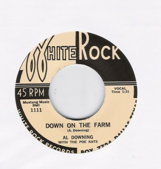 Single - Al Downing - Down On The Farm/ Oh! Babe