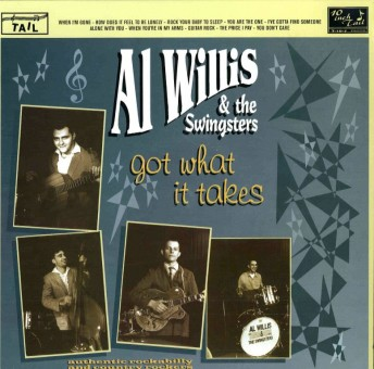 10inch - Al Willis & His Swingsters - Got What It Takes
