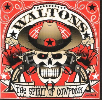CD - Waltons - The Spirit Of Cowpunk