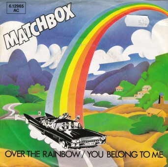 Single - Matchbox - Over the Rainbow, You Belong To Me