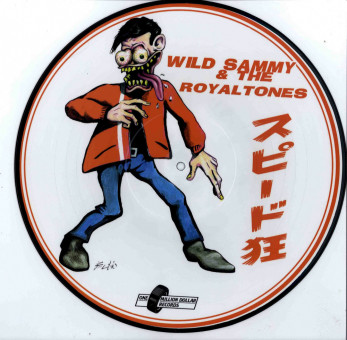 LP - Wild Sammy & The Royaltones - Speed Crazy