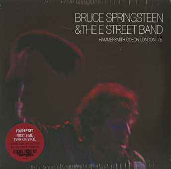 LP-4 - Bruce Springsteen & the E Street Band - Hammersmith Odeon, London '75