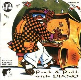 CD - VA - Rock And Roll With Piano Vol. 17