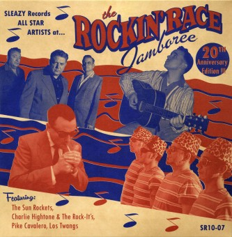 10inch - VA - Sleazy Records All Star Artists At The Rockin' Race Jamboree