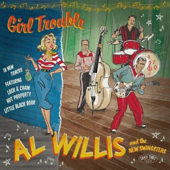 CD - Al Willis & The New Swingsters - Girl Trouble