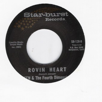 Single - Ken & The 4th Dimension - See If I Care / Rovin Heart