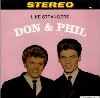 LP - Everly Brothers - Don and Phil - Like Strangers