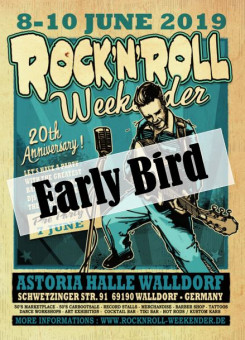 Early Bird Walldorf R'n'R Weekender Ticket 2019