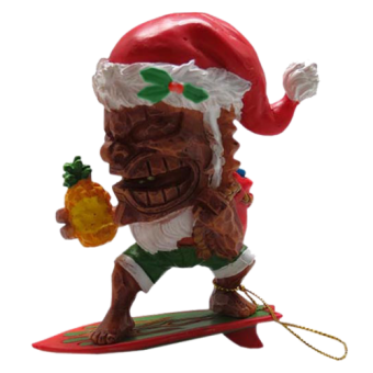 Christbaumkugel - Surfing Tiki Clause