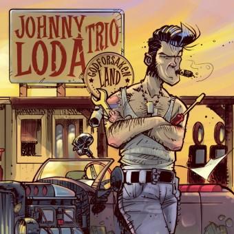 CD - Johnny Loda - Godforsaken Land