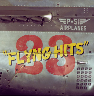 CD - P-51 Airplanes - 23 Flying Hits
