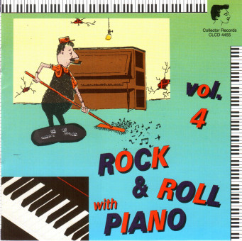CD - VA - Rock And Roll With Piano Vol. 4