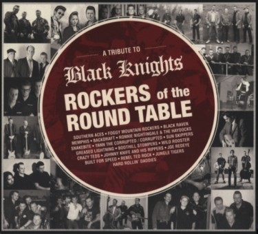 CD - VA - A Tribute To Black Knights - Rockers Of The Round Table