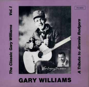 LP - Gary Williams - A Tribute to Jimmie Rodgers