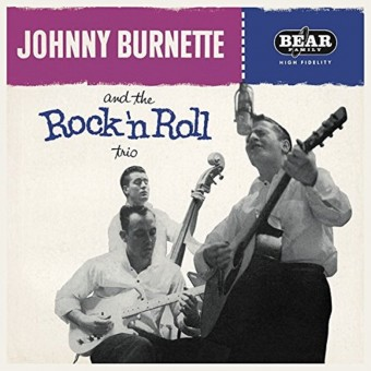 LP - Johnny Burnette - And The Rock & Roll Trio